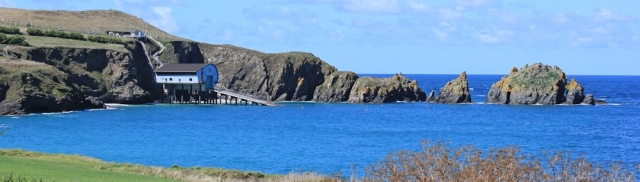 Lifeboat station, Mother Ivey's Bay, Ruth's coast walk