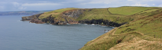 SWCP to Port Isaac, Ruth walking the coast, Cornwall