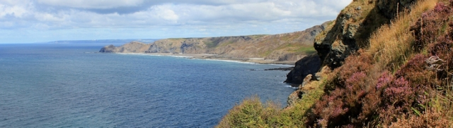 great view to Bude and Hartland Point, Ruth Livingstone