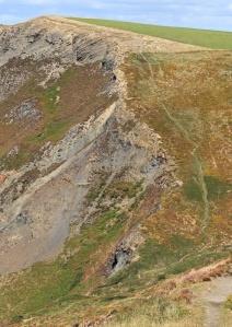 Rusey Cliff, Ruth's coast walking, SWCP, Cornwall