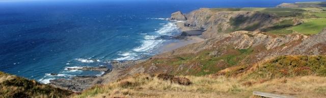 Rusey Cliff, North Cornwall, Ruth's coastal walk