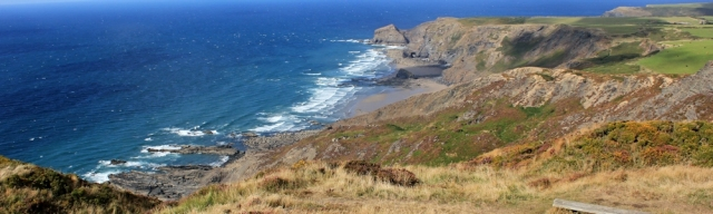 Rusey Cliff, North Cornwall, Ruth's coastal walk