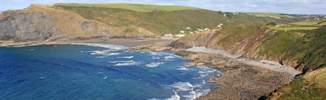 Crackington Haven, Ruth's coastal walk, Cornwall