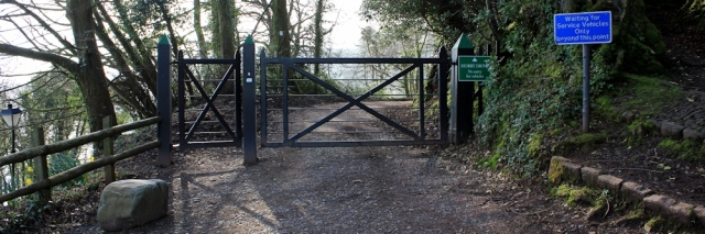 Hobby Drive entrance, Ruth's coastal walk, Clovelly, North Devon