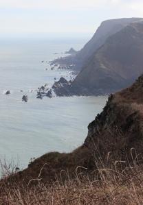Eldern Point, looking to BlackChurch Roack. Ruth's coast walk