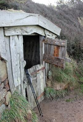Hawkers Hut, Ruth's coastal walk, Morwenstow
