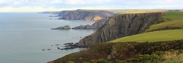 Henna Cliff to Hartland Quay, South West Coast Path, Ruth in Cornwall