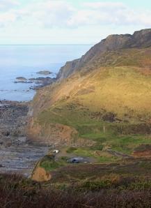 Welcombe Mouth, Ruth's coastal walk, North Devon
