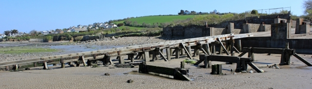 old ferry ramp, Ruth in Appledore, North Devon