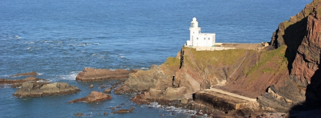 17 Hartland Point Lighthouse, Ruth's coastal walk, North Devon, SWCP
