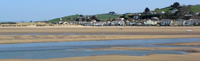 Instow from Appledore, Ruth walking the SWCP, near Barnstaple