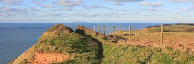 20 boring walk, Mansley Cliff, SWCP, Ruth near Hartland Quay