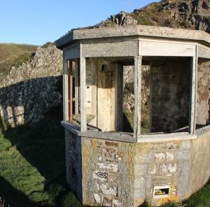 28 Not Hawker's Hut, Morwenstow, Ruth on the SW Coast Path