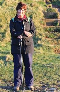 29 Ruth at Hartland Quay, coastal walking