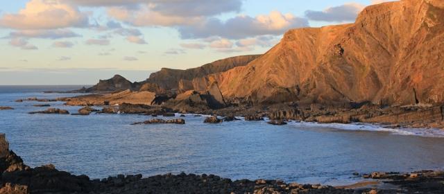 31 looking forward to Hartland Point, Ruth's coastal walk