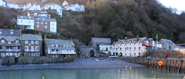 Clovelly Harbour, Ruth Livingstone