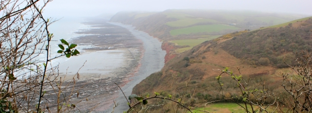x01 looking over Peppercombe, Ruth's coastal walk, to Westward Ho