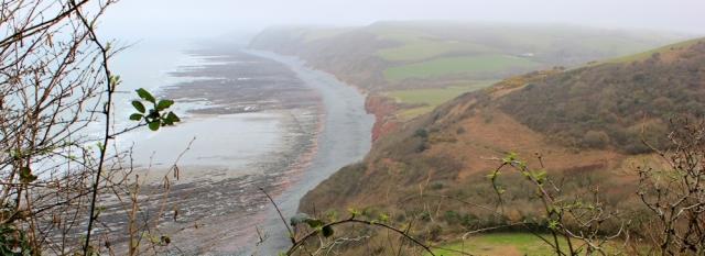 x01 looking over Peppercombe, Ruth's coastal walk, to Westward Ho
