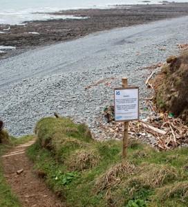 Babbacombe Mouth, Ruth's coastal walk towards Westward Ho!