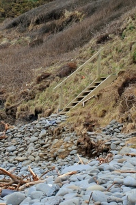steps up other side, Ruth Livingstone, SWCP