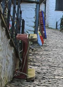 Clovelly sledge, Ruth Livingstone