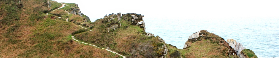 header, Ruth's coastal walk, Mortehoe