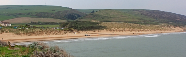 Woolacombe Sands, Ruth's coastal walk