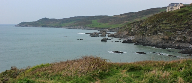 looking out to Morte Point, Ruth's walk along the coast, Woolacombe