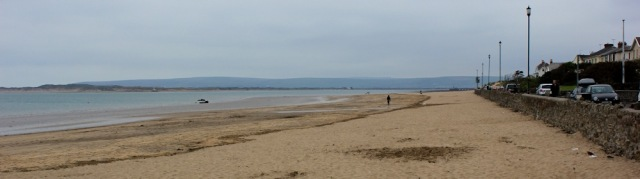 plenty of sand, ruth on her coastal walk, up the River Torridge