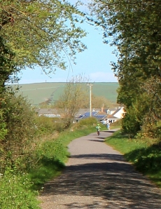 Tarka cycle trail, Ruth dying to see the coast