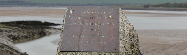 memorial to John Dinger Bell, Ruth Livingstone