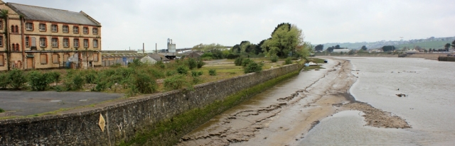 derelict land, Barnstaple, Ruth's coastal walk