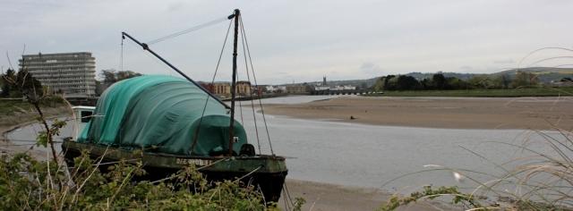 looking back to Barnstaple, Ruth's coast walking