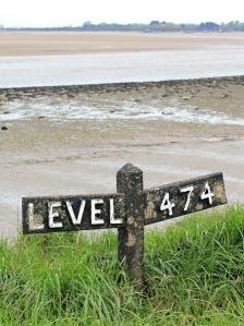 marker by Tarka Trail, Ruth wallking Devon