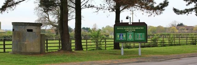 Chivenor Barracks, Ruth walking around the coast of the UK, SWCP