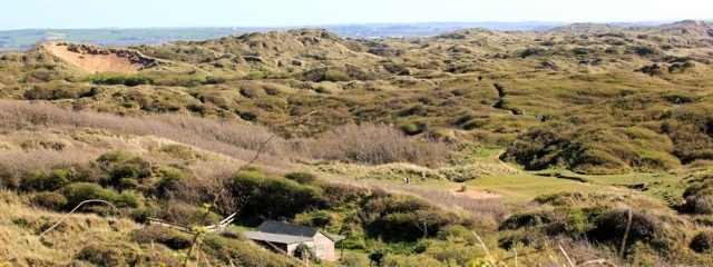 Braunton Burrows, South West Coast Path, Ruth's coastal walk