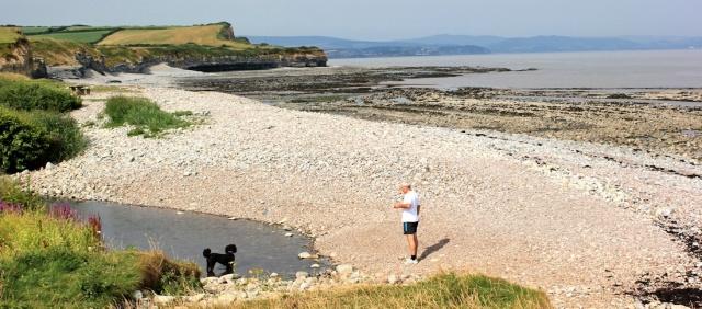 Kilve Pill, Ruth's coast walking