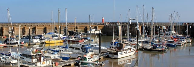 Watchet Harbour, Ruth's coastal walking, SOmerset