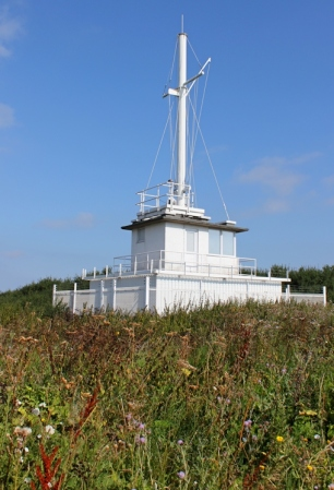 coastguard lookout, Watchet, Ruth's coast walking