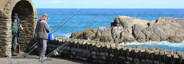 fishermen, Ilfracombe, Ruth Livingstone