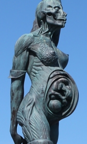 Pregnant statue, close up, Ruth LIvingstone