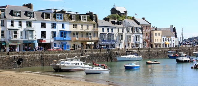 Ilfracombe harbour, Ruth's coastal walk, North Devon
