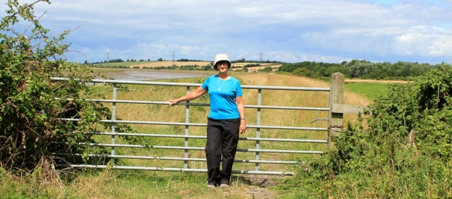 Ruth on River Parrett, Somerset