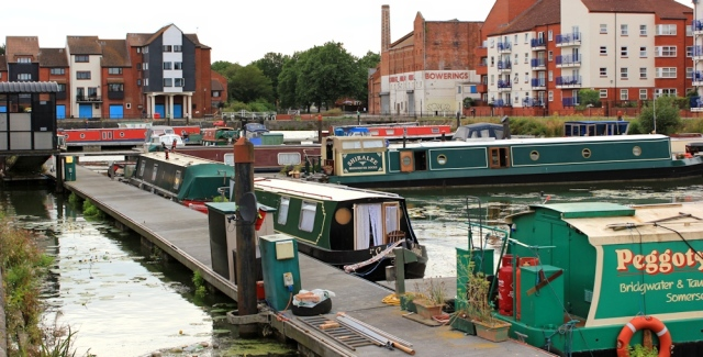 Bridgwater Marina, Ruth on the River Parrett Trail, Somerset