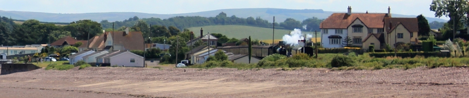 header, steam train, Blue Anchor, Ruth Livingstone