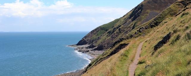 cliffs at Hurlstone Point, Ruth Livingstone, walking the coast