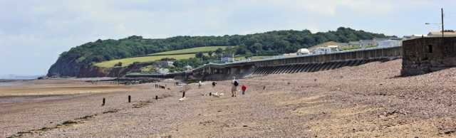 Blue Anchor, Ruth's coastal walk, Somerset