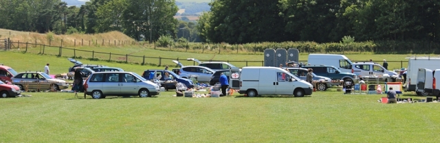 car boot sale, Blue Anchor, Ruth's coastal walk, North Somerset