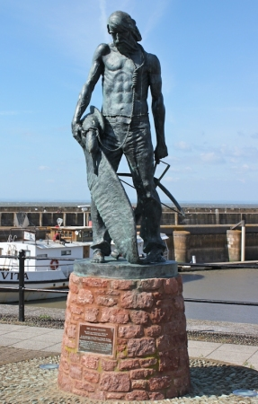 Ancient Mariner, Coleridge, Watchet, Ruth walking in Somerset