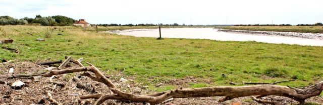 looking back, River Parrett, Ruth's coast walk